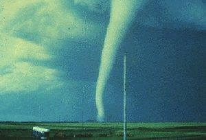 Tornado en London.
