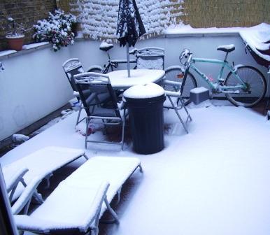 Otra vez nevó.