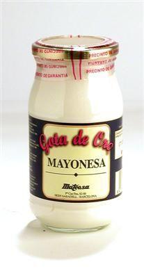Grandes dosis de mayonesa.