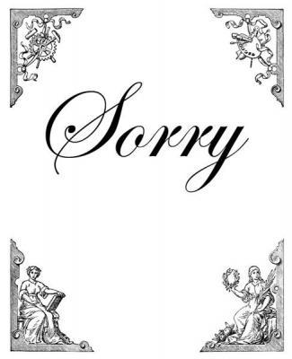 El Sorry.